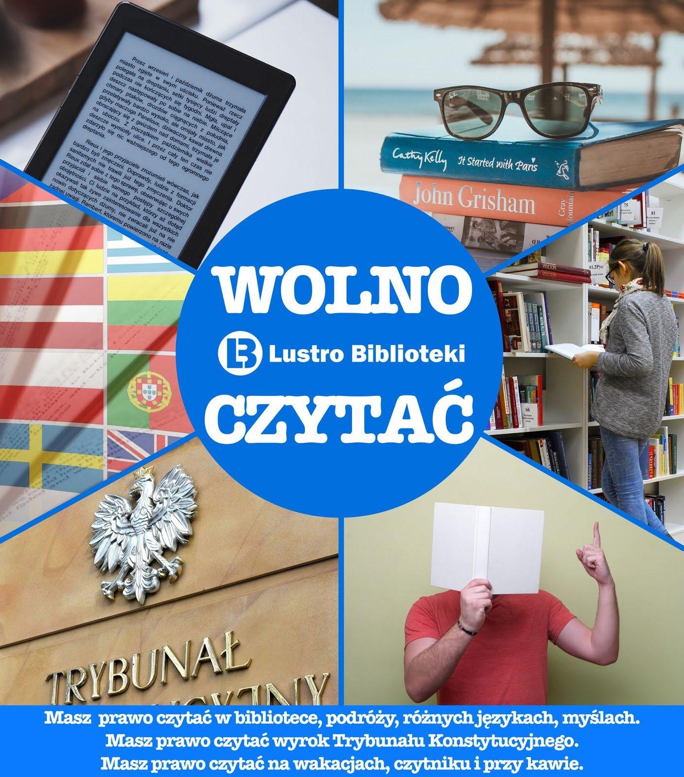 Plakaty Dla Bibliotek Wolno Pobierać I Udostępniać