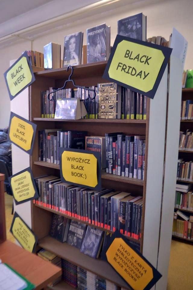Black Week, czyli biblioteczna promocja na książki