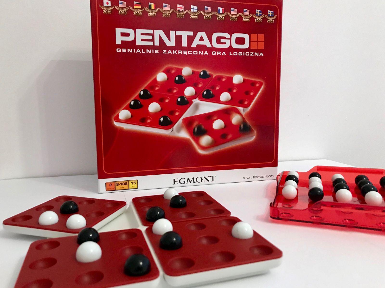 gry planszowe pentago