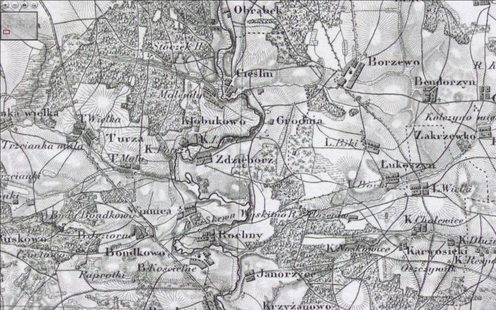 Topograficzna Karta Królestwa Polskiego