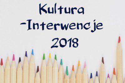 Kultura – Interwencje