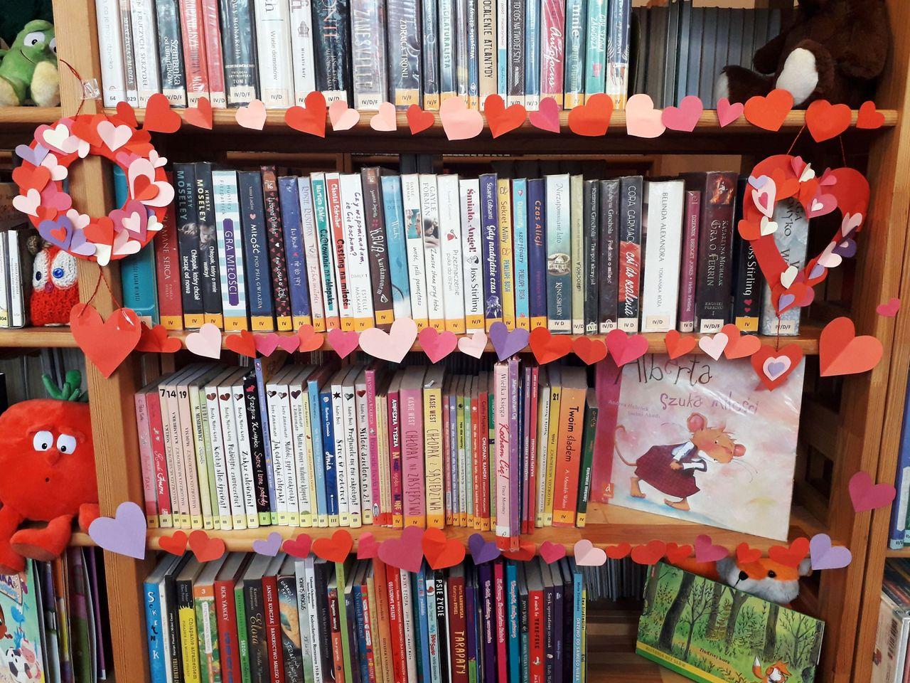 inspiracje walentynkowe biblioteka