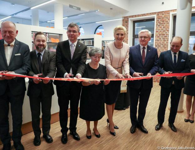 Agata Kornhauser-Duda: Każda biblioteka jest miejscem szczególnym