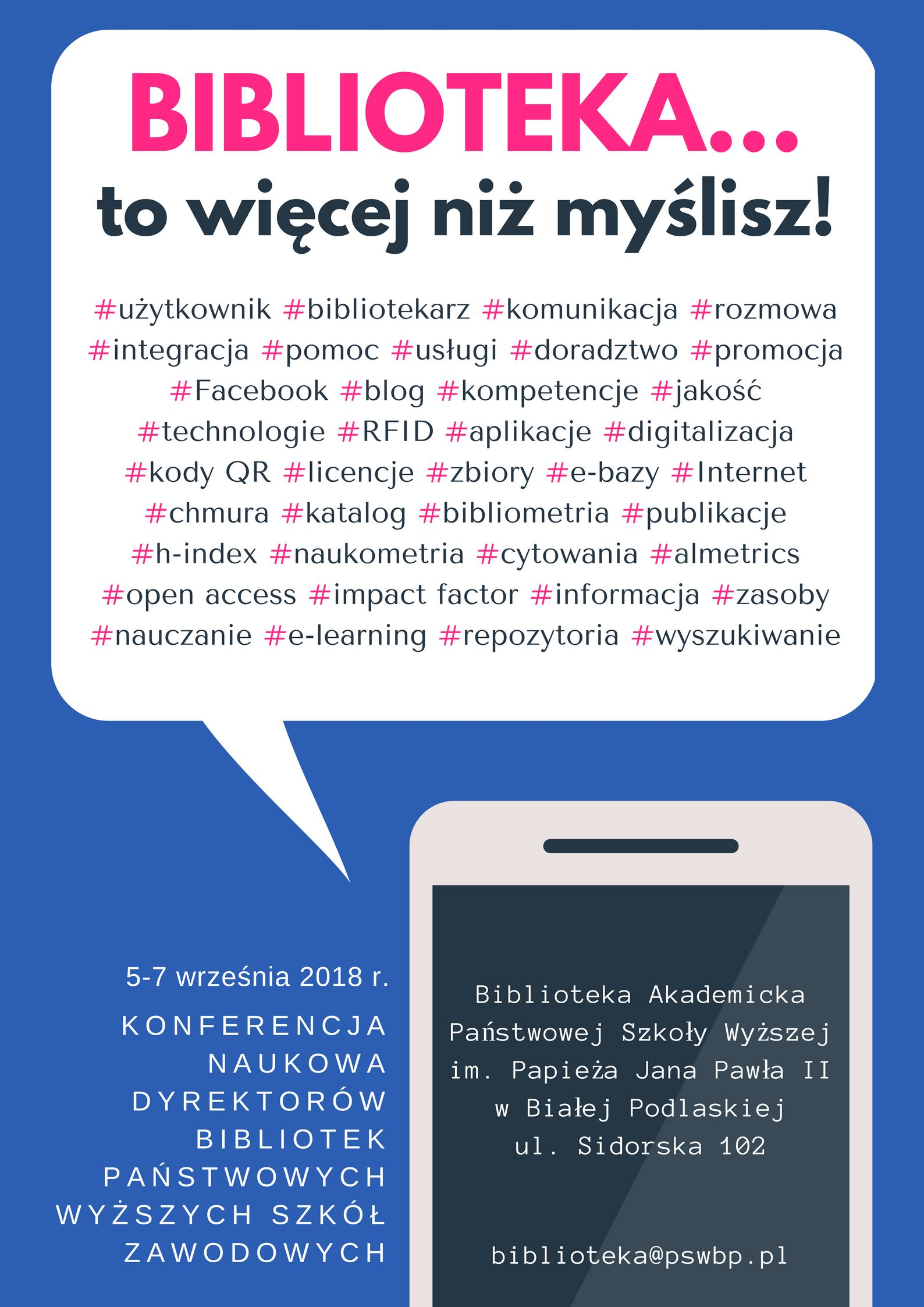 biblioteka konferencja