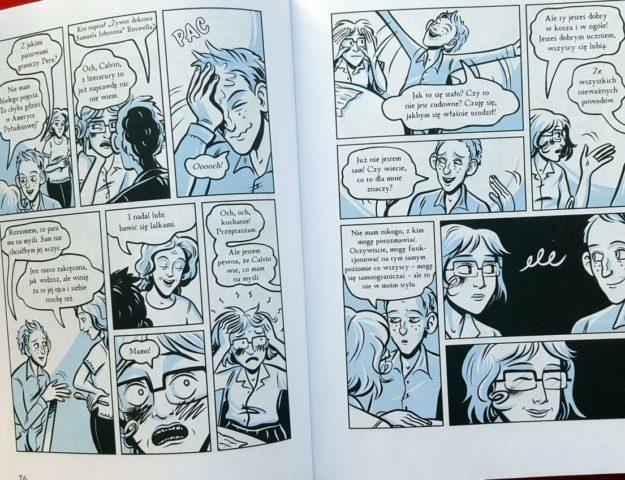 komiksowa powieść