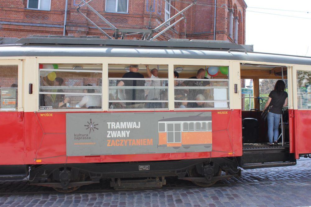 Tramwaj Zwany Zaczytaniem podróżował po ulicach Szczecina
