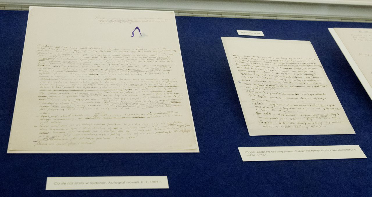 Unikatowa kolekcja rękopisów z archiwum Henryka Sienkiewicza i jego rodziny trafiła do Ossolineum