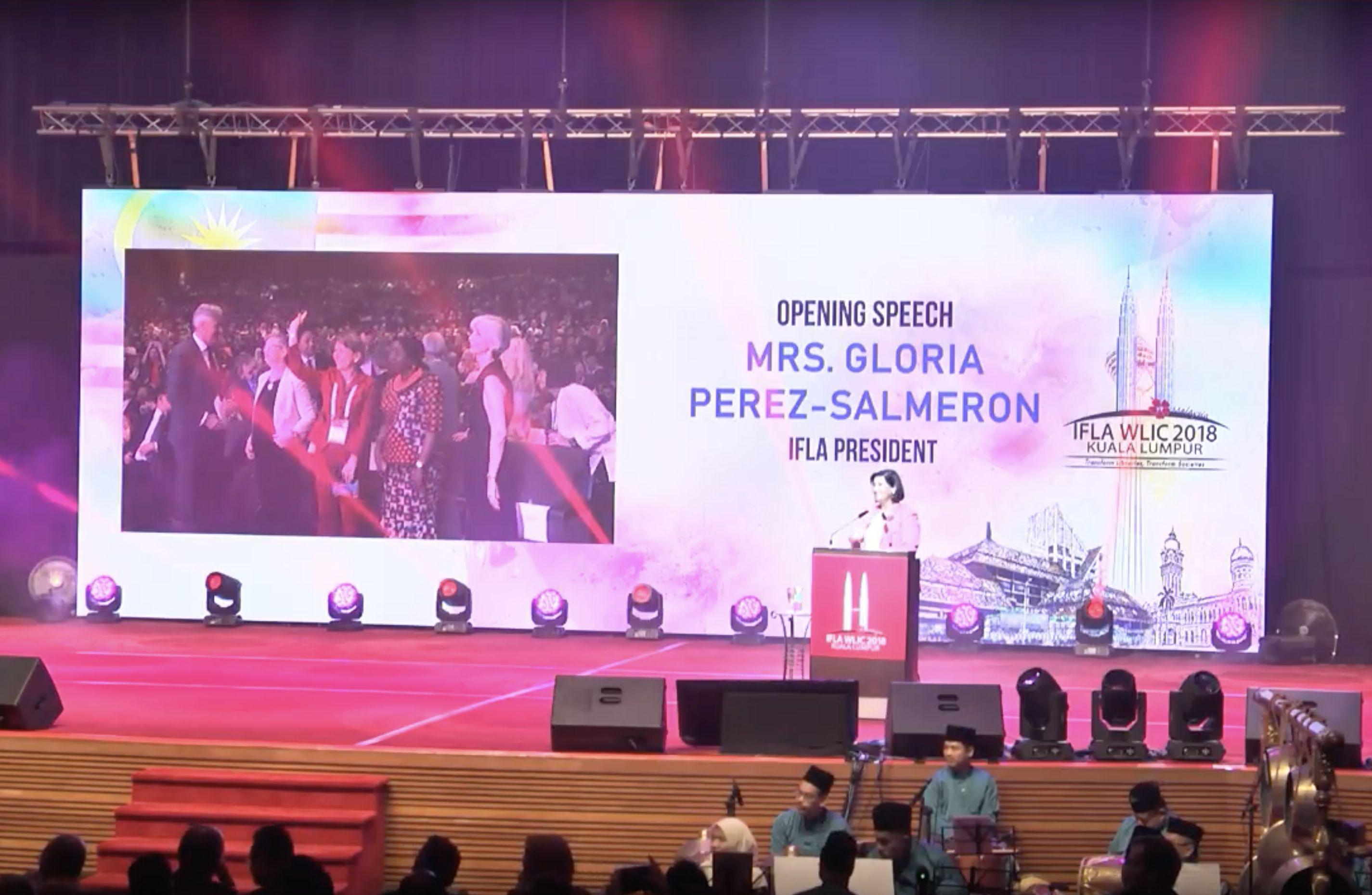 Transformacja bibliotek - otwarcie Kongresu IFLA 2018 w Malezji