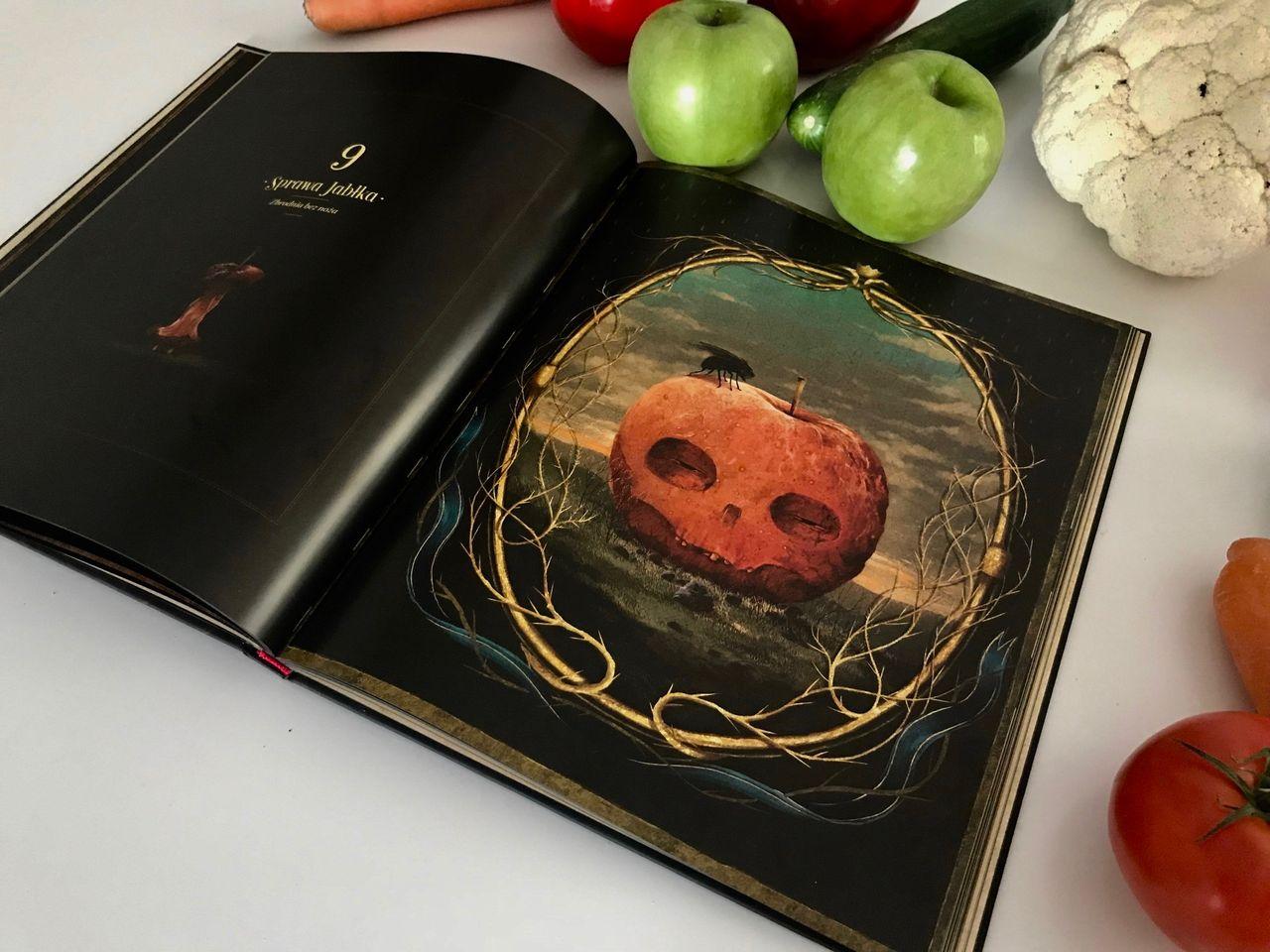 Upiorne warzywa i carving w bibliotece