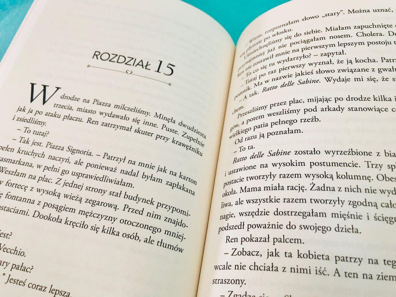 Włoski klimat w bibliotece