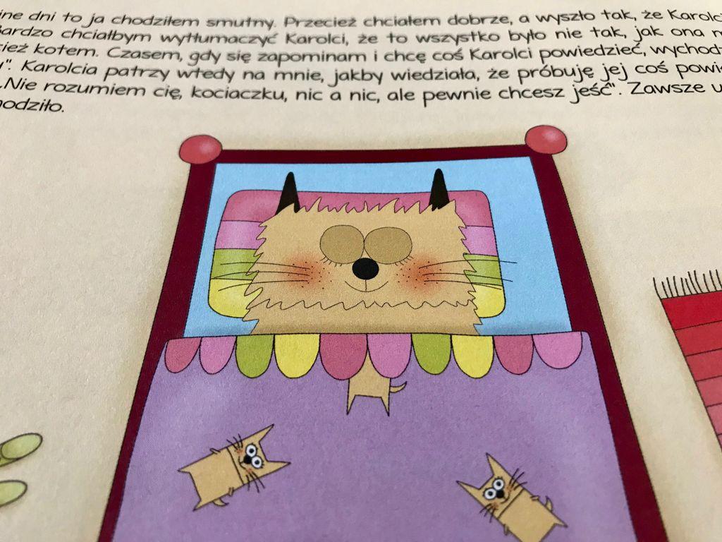 Kociak z plamką i lekcja szacunku