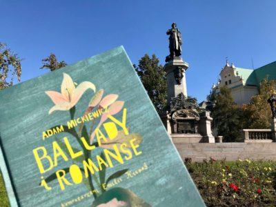 Niedziela z balladami i romansami – premiera książki