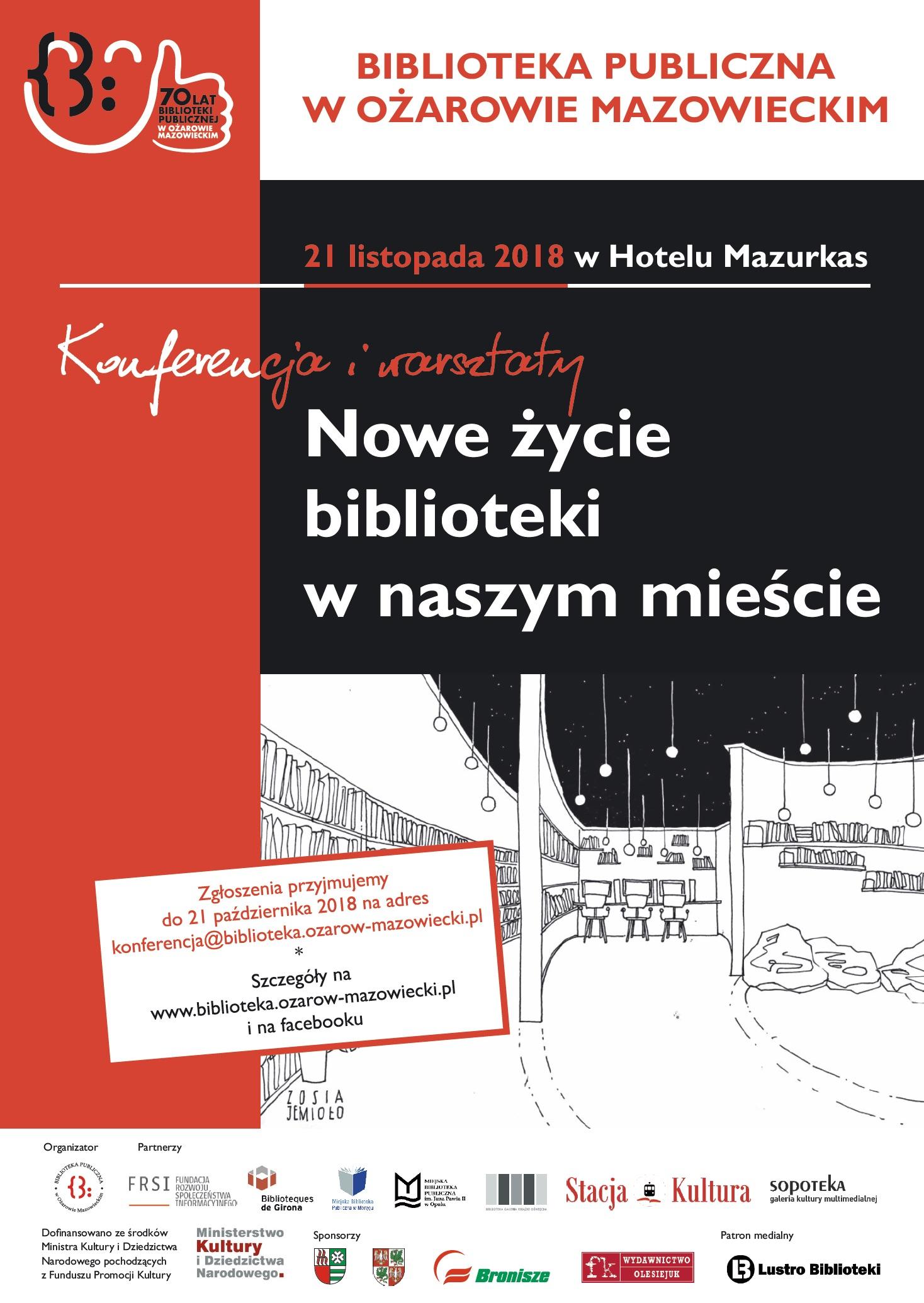 Nowe życie biblioteki w naszym mieście