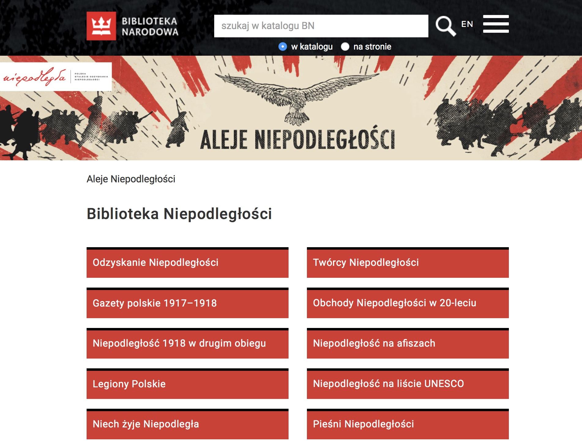 Aleje Niepodległości, czyli Biblioteka Niepodległości