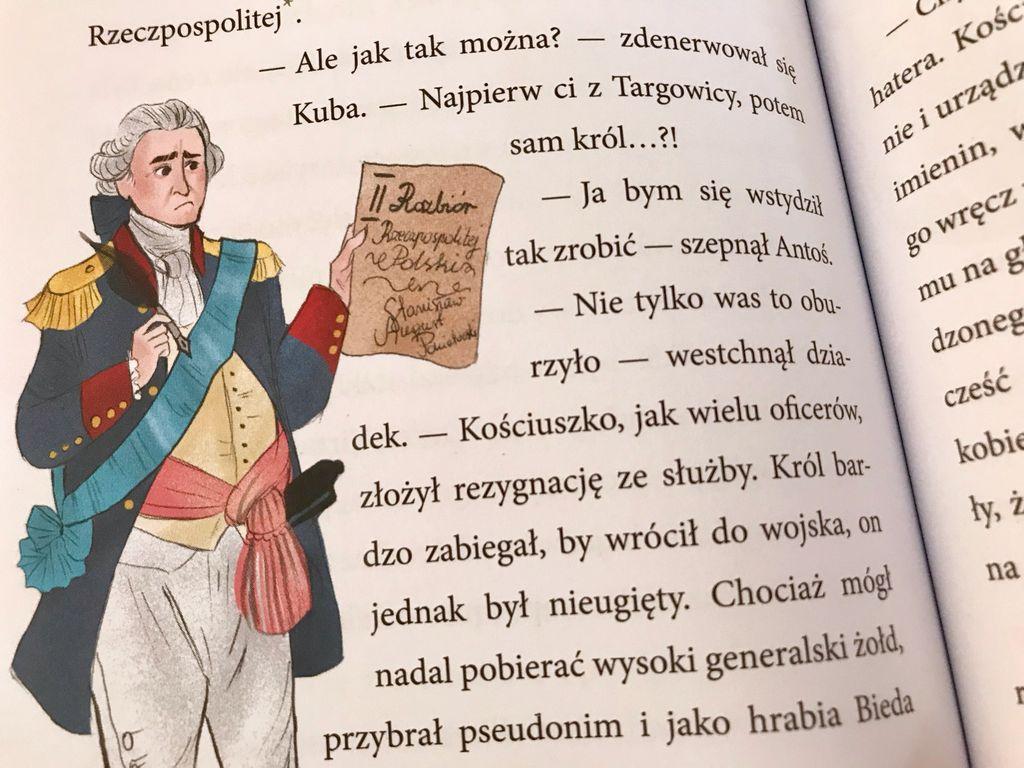 Dwa powstania – Gołąbek niepokoju i Polscy superbohaterowie. Tadeusz Kościuszko