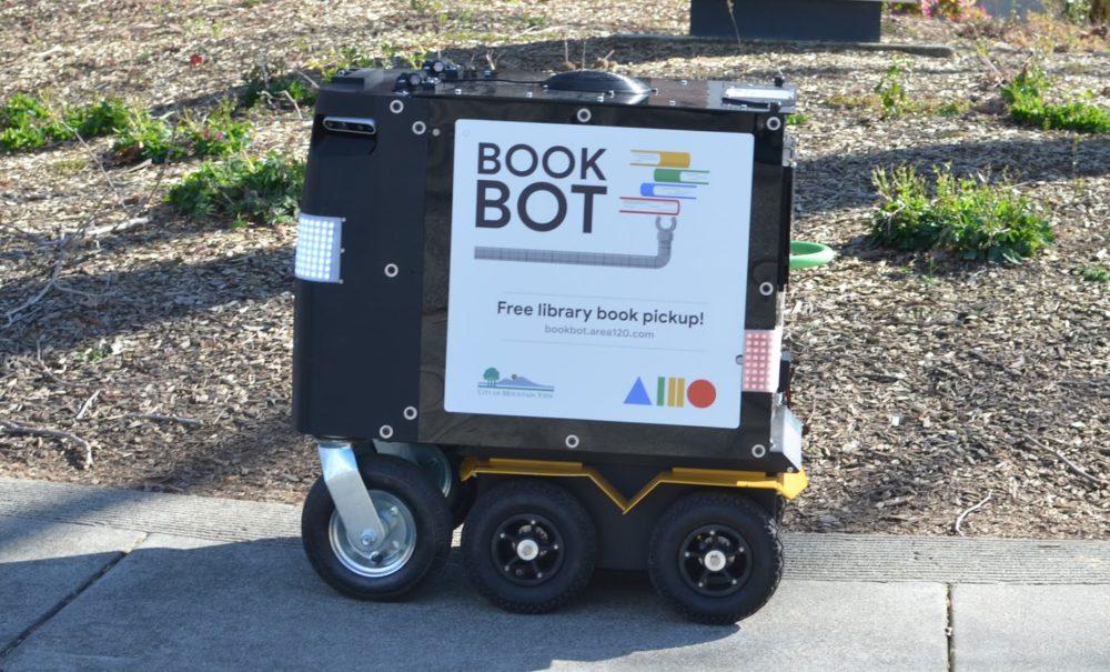 Book Bot – robot, który odbierze książki i zwróci je do biblioteki
