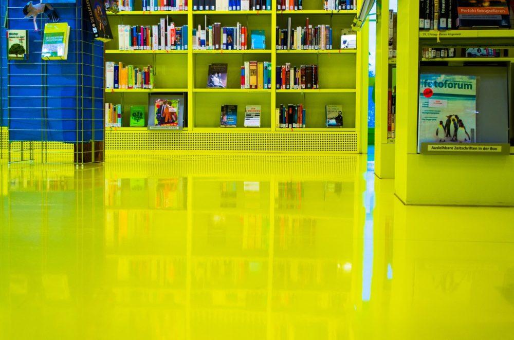 Biblioteki niczym galerie kultury