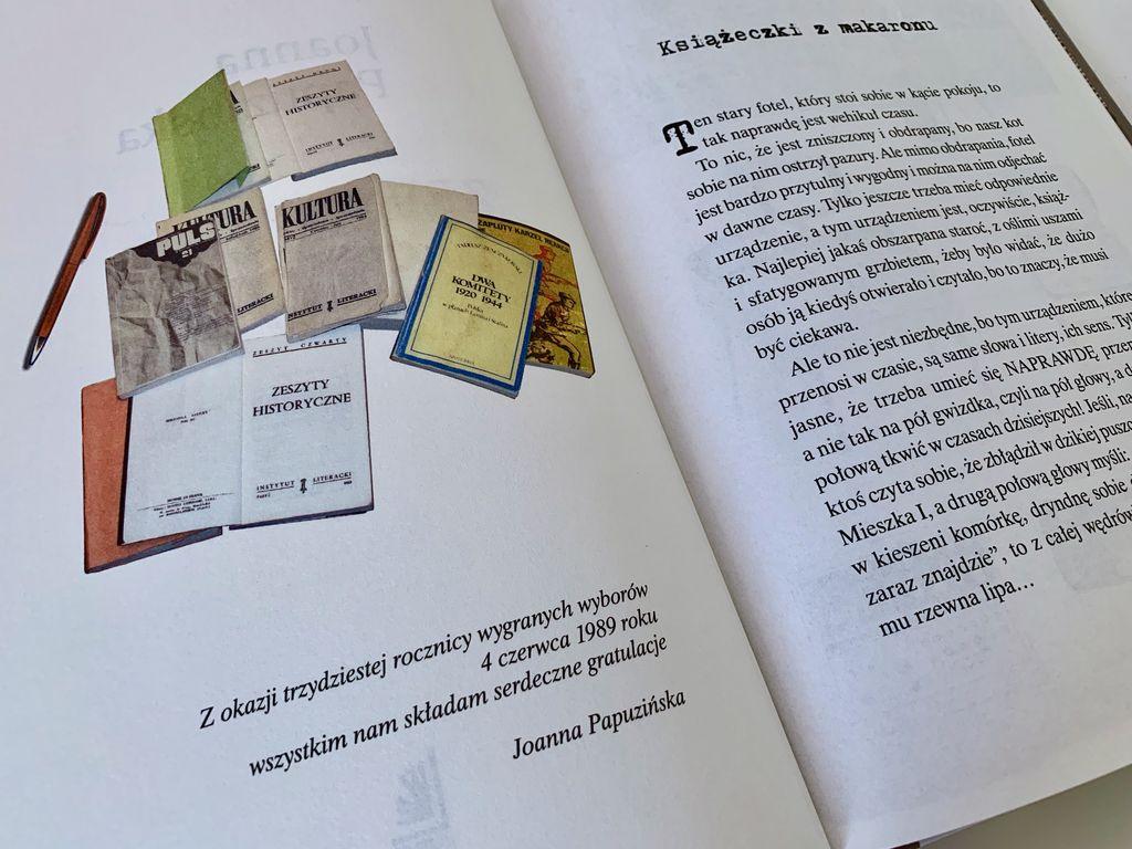 O książeczkach z makaronu – Zbuntowane słowa