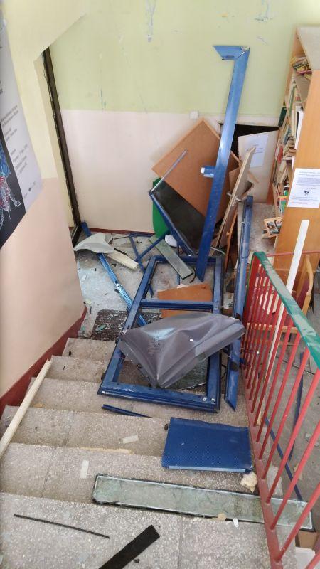 Pomoc dla zniszczonej biblioteki w Kaliszu