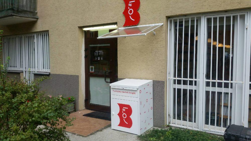 9 biblioboxów na warszawskim Ursynowie