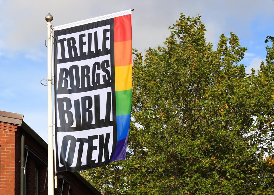 Biblioteka w Trelleborgs w Szwecji otrzymała certyfikat LGBT