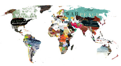 mapa literacka
