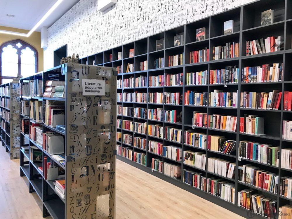 biblioteki poczytalnia