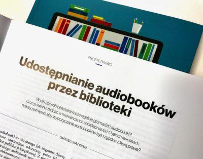 Udostępnianie audiobooków i e-booków w bibliotekach