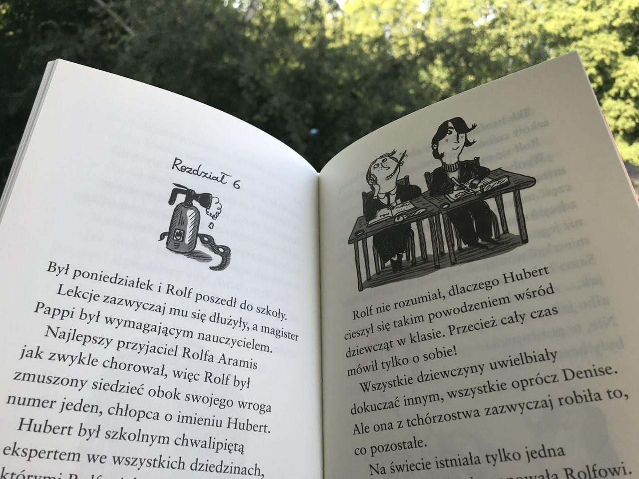 Książka i zabawy (nie) tylko dla odważnych