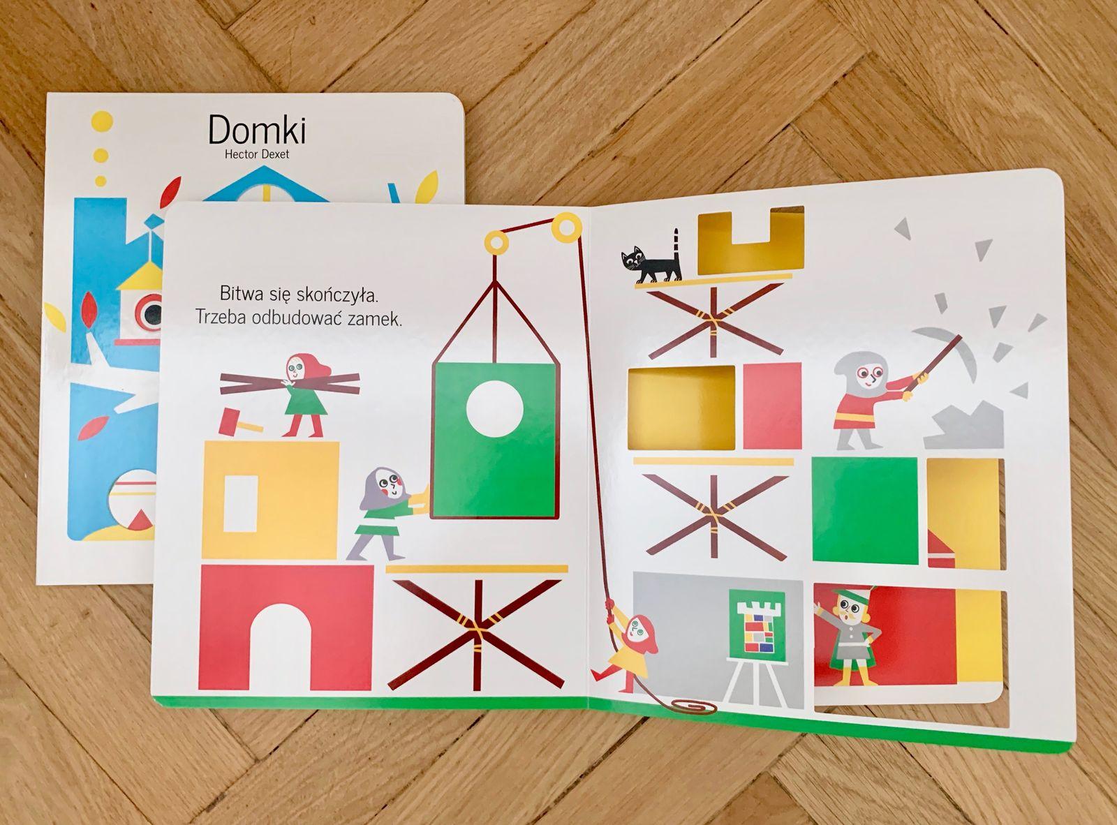 Zabawy kształtem i kolorem, czyli książki do twórczej zabawy