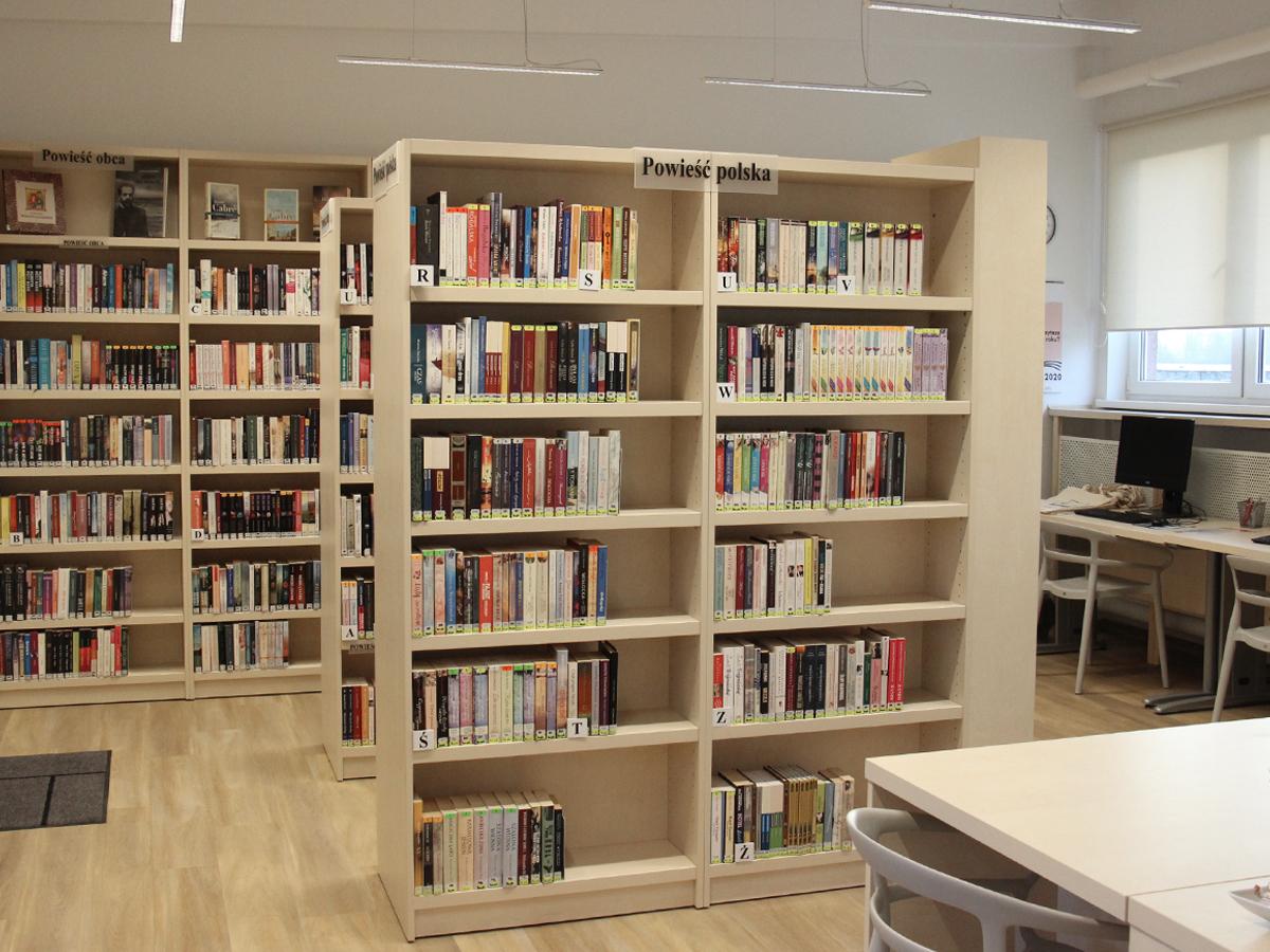 Biblioteka Brzeźno w nowej odsłonie