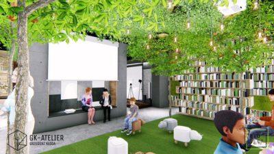 BIOTEKA – biblioteka w zgodzie z naturą